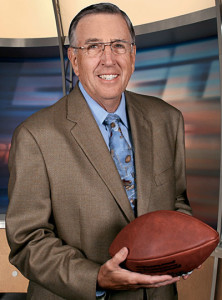 Legendary broadcaster Brent Musburger, along with former Florida quarterback Jessie Palmer, will serve as lead commentators for the SEC Network. PHOTO COURTESY ESPN