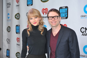 Bobby Bones is much more than just a radio host, also frequently appearing on television and as host or presenter at awards shows where he appears with the biggest names in music like Taylor Swift. PHOTO COURTESY OF PREMIERE NETWORKS
