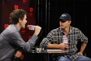 Bones, along with tennis superstar and former US Open Champion Andy Roddick, hosted a national weekend sports talk show together until 2013. Bones still hosts FOX Sports Radio's Bobby Bones, on nearly 250 affiliates each weekend. PHOTO COURTESY OF PREMIERE NETWORKS