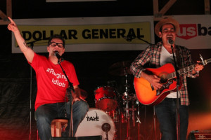 'The Raging Idiots' have raised over $300,000 playing free concerts around the country. PHOTO COUNTRY PREMIER NETWORKS