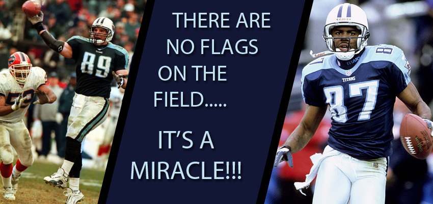 """Remembering the """"Music City Miracle,"""" 15 years later"""