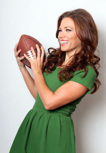 Women Can Talk Sports founder Taryn Foshee is a former Miss Mississippi and Miss America finalist who is trying to change what it means to be a female fan. PHOTO COURTESY WOMEN CAN TALK SPORTS