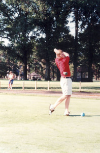 A young Brandt Snedeker playing in the 1999 AJGA Rolex Tournament of Champions PHOTO COURTESY AMERICAN JUNIOR GOLF ASSOCIATION
