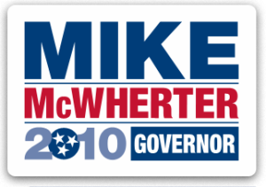 McWherter for Governor logo