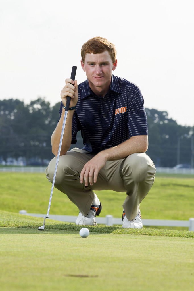 Ben Reeves won the 2012 Music City Junior and now plays for UT Martin where he has been a two-time All-OVC selection, OVC Freshman of the Year and US Amateur participant. PHOTO BY NATHAN MORGAN, COURTESY OF UT MARTIN ATHLETICS