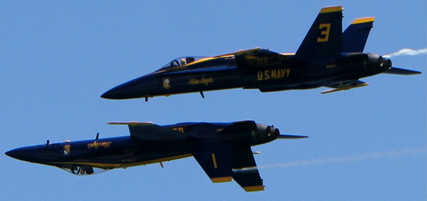 Vacationing in Pensacola with the Blue Angels