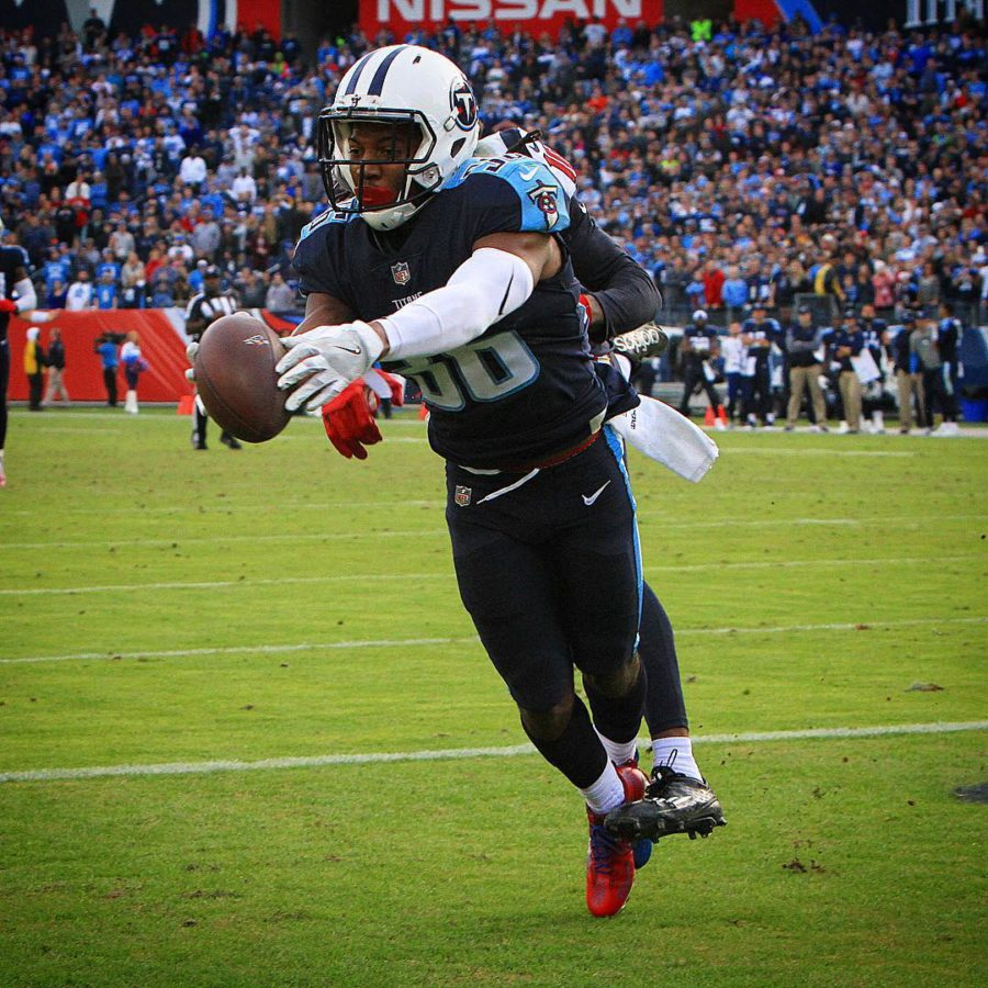The titans win was sealed with a sweet leshauns36 fingertiphellip
